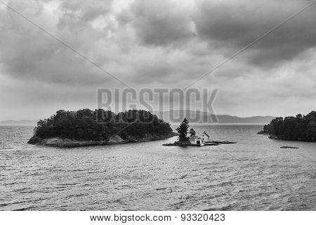 A small island in the Norwegian Sea