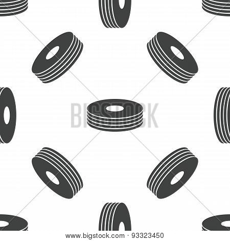 Disc pile pattern
