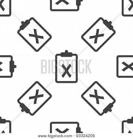 Clipboard NO pattern