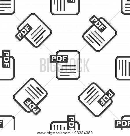 PDF file pattern