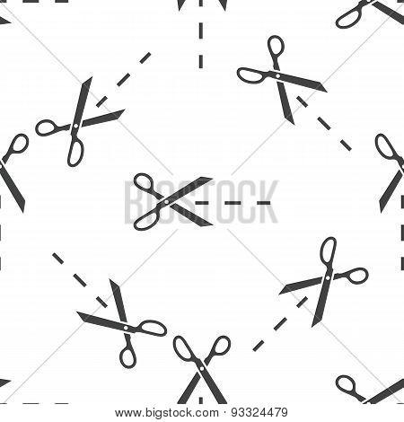 Cutting scissors pattern