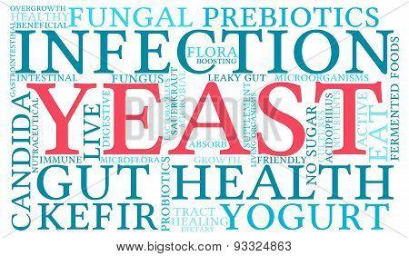 Yeast Word Cloud