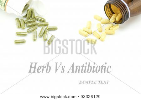 Herbal vs Antibiotic