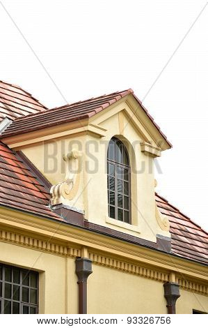 Dormer Window Closeup