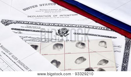 US Citizenship Documents