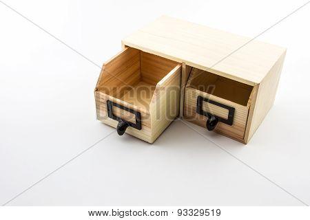 Empty Wooden Crate.
