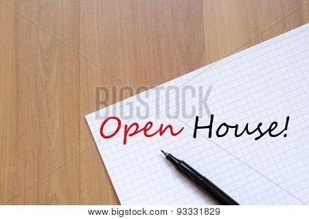Open House Concept