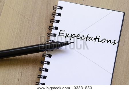 Expectations Concept