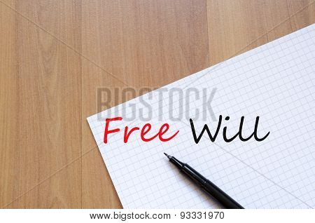 Free Will Concept
