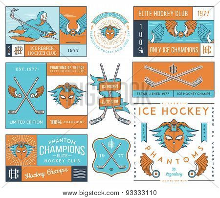 Hockey Badges And Lables Vol. 2