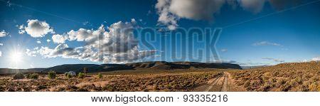 Karoo Desert Landscape