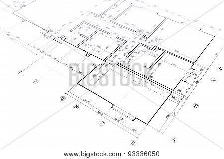 Home Plan Blueprint