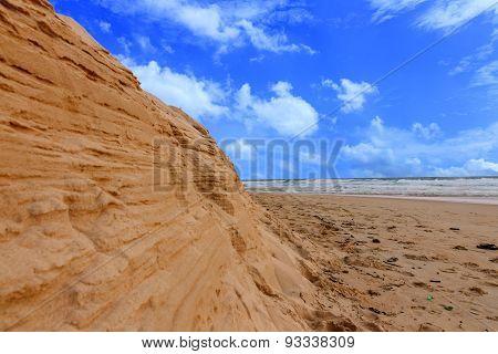 The Beach Seq And Sky.