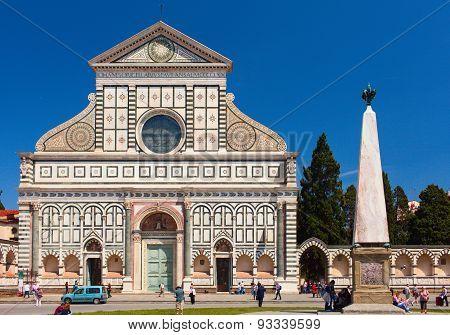 Basilica Santa Maria Novella. Florence