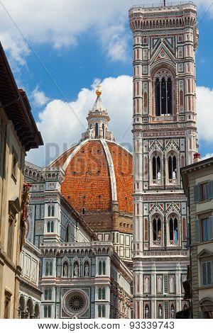 Cathedral SANTA MARIA DEL FIORE. Florence