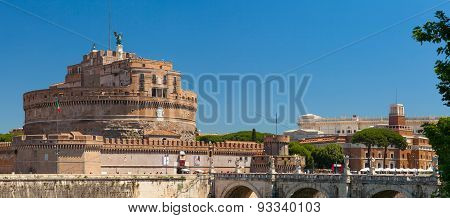 Castle of the Holy Angel. Rome, Italy