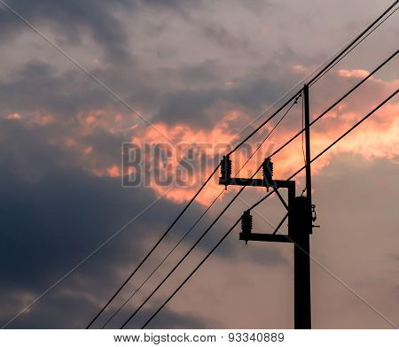 The Silhouette Electricity Post.