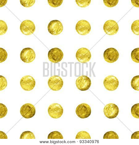 gold Confetti glitter background.