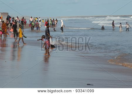 Monday Afternoon At Obama Beach, Cotonou