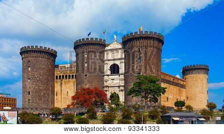 New Castle. Naples, Italy