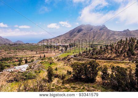 Landscape On The Island Tenerife