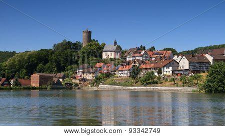 Medieval Village Of Lissberg