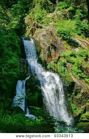 Triberg Waterfalls In The Black Forest, Germany-9