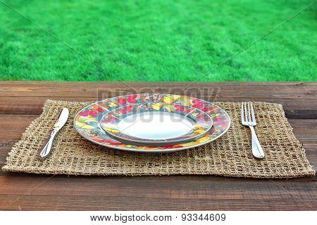 Outdoor Dinner Concept