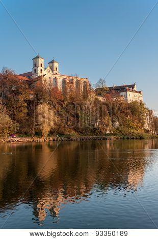 Benedictine Abbey In Tyniec In Fall, Krakow, Poland