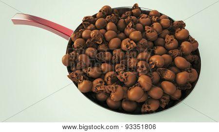 Fried Skulls