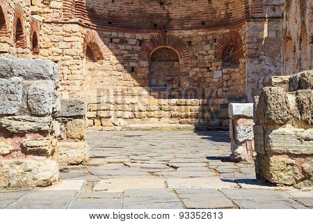 The Ancient Church Of St. Sophia, Nessebar, Bulgaria