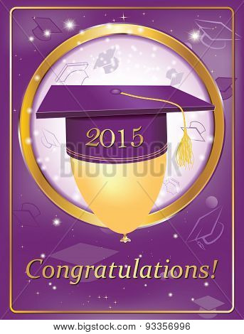 Graduation greeting card 2015