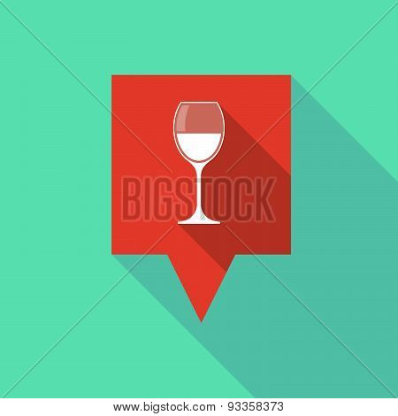 Tooltip Icon With A Wine Glass