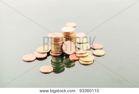 Thai Coins Baht Isolate