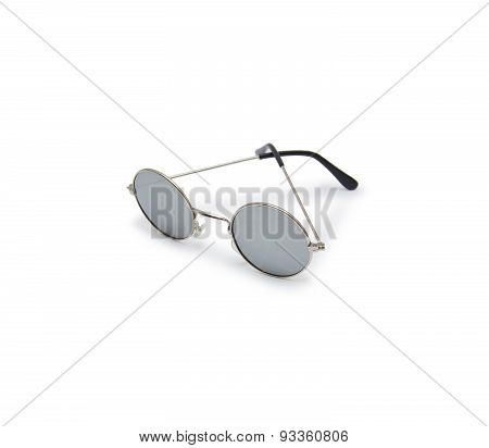 Sun Glasses On White Backgroundsun