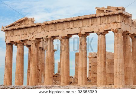 The Parthenon. Athens, Greece.