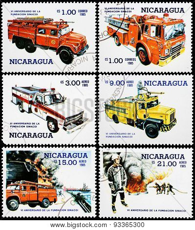 Post Stamps From Nicaragua