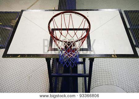 Basketball Basket As A Background