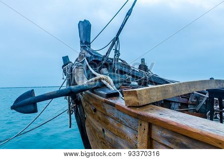 Old Ship with Anchor