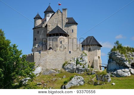 Castle in Poland (Bobolice)