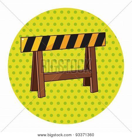 Construction Sites Fence Theme Elements
