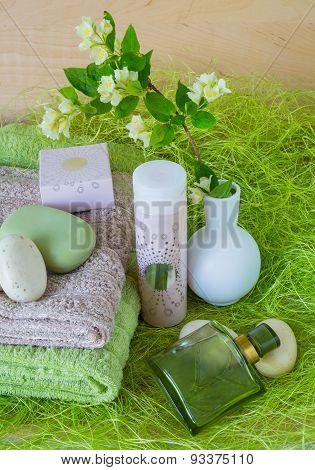 Towels, Soap, Perfume