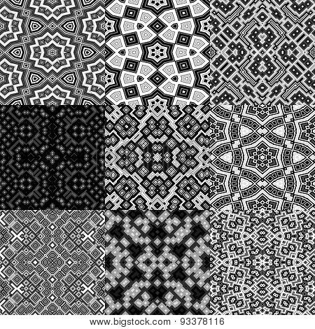 Set of Cubes Kaleidoscopic Seamless Generated Texture