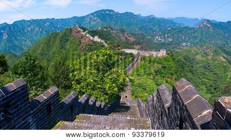 The Great Wall of China (Yellow Cliff).