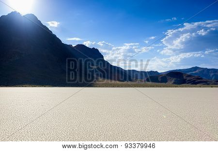 Racetrack Playa In Death Valley National Park, California, Usa.
