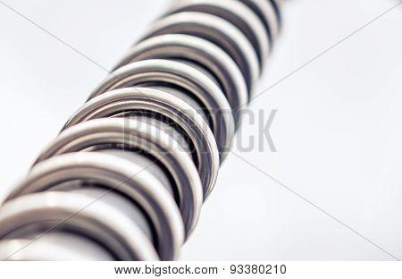 Metal spiral