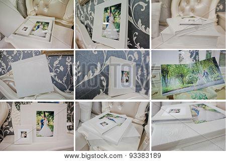 Twist White Wedding  Photo Book