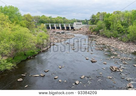 Powerhouse And Dam At Black River Falls