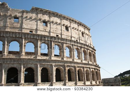 Coliseum During The Day