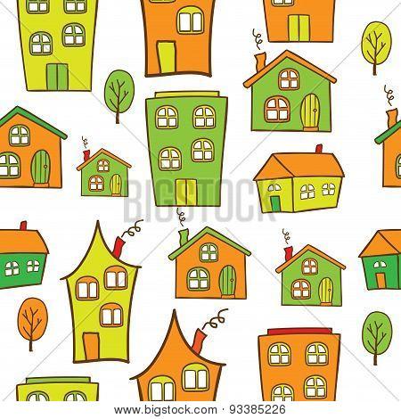 houses seamless